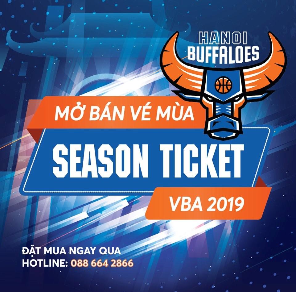 Mở bán vé mùa 2019