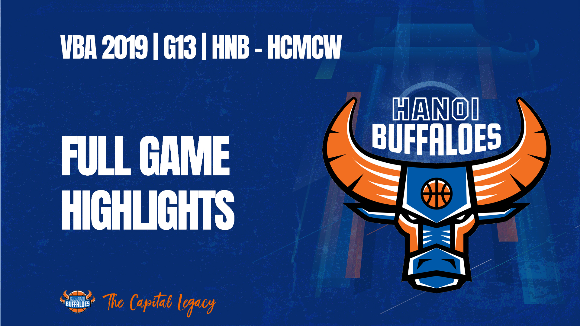VBA 2019 | Game 13 | HNB vs HCMCW | Full game highlights